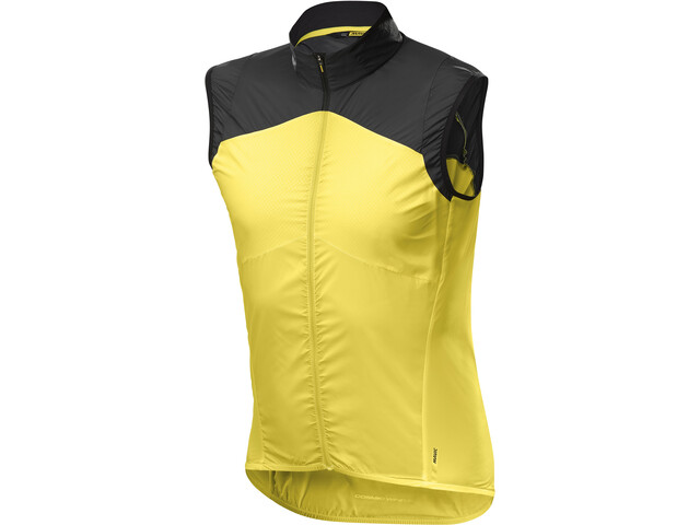 Mavic Cosmic Wind SL Vest Herren yellow mavic/black